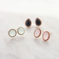 Bright earring (Silver)