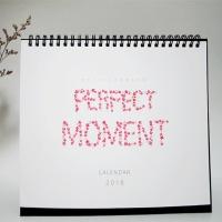 2018 Moment desk calendar