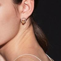 modern rope earring
