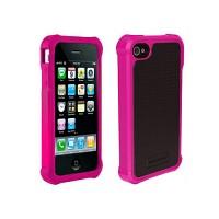 [충격완벽보호 볼리스틱 케이스] BALLISTIC SG iPHONE 4/4S GSM/CDMA (Hot Pink) [완벽하게 스마트폰 보호 소재]