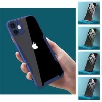 아이폰11 pro max 테두리 컬러 라인 투명 범퍼 케이스