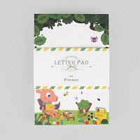 레터패드-04 피크닉 (굴리굴리) (편지지패드)