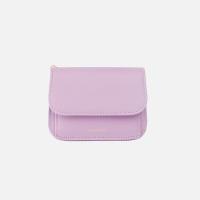 Dijon N301R Round Card Wallet lilac blossom 디종 월렛 라일락블라썸
