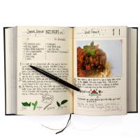 [썩유케이] 가족 요리책 레시피북 블랙