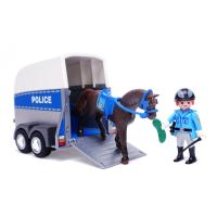 플레이모빌 기마경찰과 트레일러(6922)