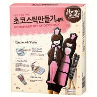 큐원 초코스틱 만들기 세트 250g