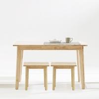 [스크래치] 모던 빗각 테이블 + 모던 빗각 스툴 (2EA)