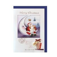 크리스마스카드/성탄절/트리/산타 크리스마스의 저녁 (FS151s-6)
