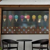 dgse123-알록달록 아이스크림-반투명시트지