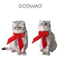 [도그웨그 DOGWAG] 강아지&고양이 빨간리본