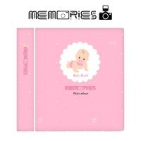 메모리즈 인스탁스 미니 앨범 2단 016-Pink baby book