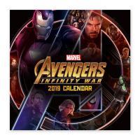 마블 어벤져스 인피니티 워 히어로즈 월캘린더 2019
