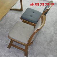 크레 고무나무 원목 식탁 의자