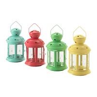 ROTERA lantern/ 티라이트용 랜턴-컬러(임의배송)