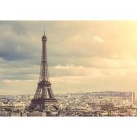 1000조각 목재 직소퍼즐▶ 노을지는 파리의 에펠탑 [WPK1000-21]