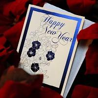 하베스터 신년 카드 - 새로운 시작