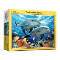 150피스 돌고래의 사랑 직소퍼즐 PL285