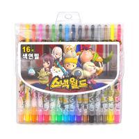 스낵월드 16색 색연필