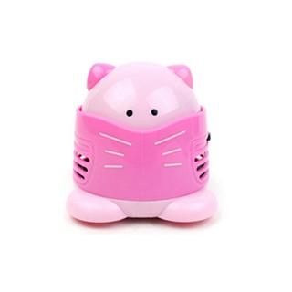 고양이 미니 청소기 - 핑크