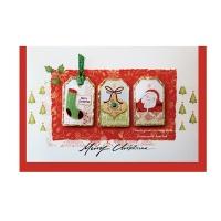 크리스마스카드/성탄절/트리/산타 Christmas 시즌카드 (FS111-5)