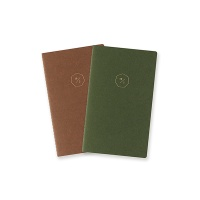 19 HALF DIARY set_green brown (날짜형)