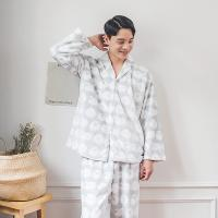 [쿠비카]밍크 양면 극세사 램번 남성잠옷 BNBR-M078