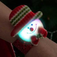 점등 LED 인형팔찌 (눈사람)