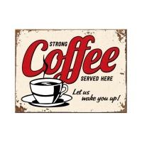 노스텔직아트[14343] Strong Coffee Served Here