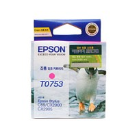 엡손(EPSON) 잉크 C13TO75370 / 진홍 / Styius C59/CX2900/CX2905
