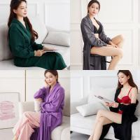 시보리 로브 나이트 샤워가운 잠옷 여성홈웨어4종 택1