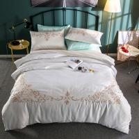 [클라모프] 럭셔리 안테나 침대커버 세트 Q