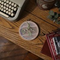 겨우살이 투명자수 DIY KIT - 식물채집 투명자수