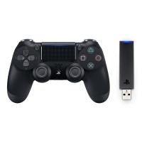 PS4 신형 SONY 듀얼쇼크4 JET BLACK + USB 무선어댑터