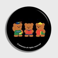 Smart bear friends-black(거울)