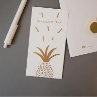 오롤리데이 message card - congratulation