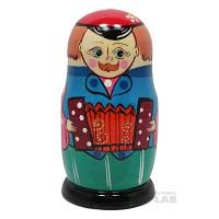 SAG 5구 복고풍 인형 - 러시아가족