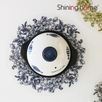 리스원형 실리콘 식탁매트 겸 냄비받침 1P