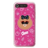 라인프렌즈 iPhone7 CHOCO Funky LIGHT CASE
