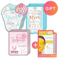 소프리스 필링3+종아리3+풋3 마스크/풋케어 실속세트