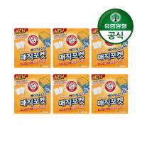 암앤해머 매직포켓 서랍장 냄새탈취제(30g 10입) 6개