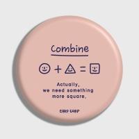 [어프어프] 손거울 Shape combine-Indy pink