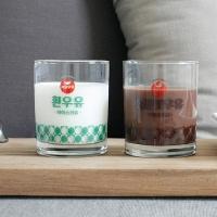 [2HOT] 서울우유 레트로 유리잔