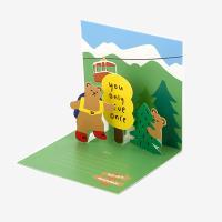 팝업 카드 - 16 Bear
