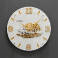 (khyn010)저소음 코끼리 가죽디자인 시계 (W)