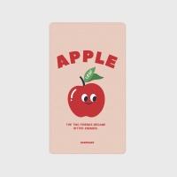[어프어프] 보조배터리 Leaf apple-Indy pink
