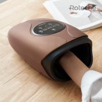 로테체 무선 온열 손마사지기 (화이트/골드)