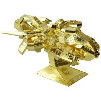 [3D퍼즐마을][MU] YM-N012 스페이스 건쉽-골드