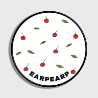 [어프어프] 스마트톡 Leaf cherries-white