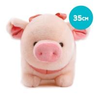 해피피그 돼지인형-왕(35cm)