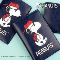 [Peanuts]스누피 피크닉 여권지갑